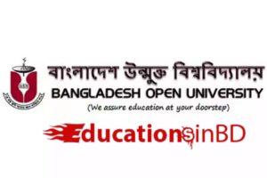 বাংলাদেশ উন্মুক্ত বিশ্ববিদ্যালয়ের এসএসসি প্রোগামে ভর্তি বিজ্ঞপ্তি 2019