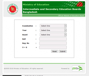 SSC Result 2018 All Education Board Results Bangladesh