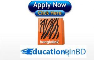 Banglalink Job Circular 2018 Online Apply- www.banglalink.net